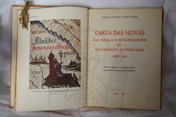 CORTESAO (Armando) & THOMAS (Henry).- Carta das Novas