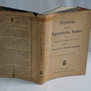 SCHOENFELD Erythräa und der Ägyptische Sudân.
