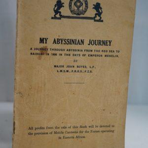 BOYES My Abyssinian Journey.