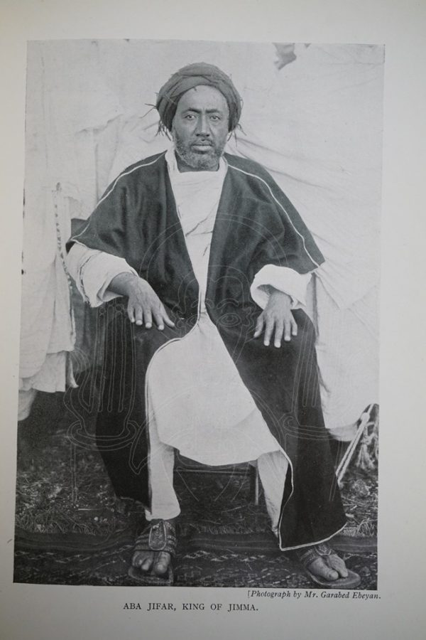 HODSON Seven Years in Southern Abyssinia.