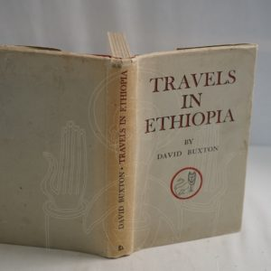 BUXTON Travels In Ethiopia.