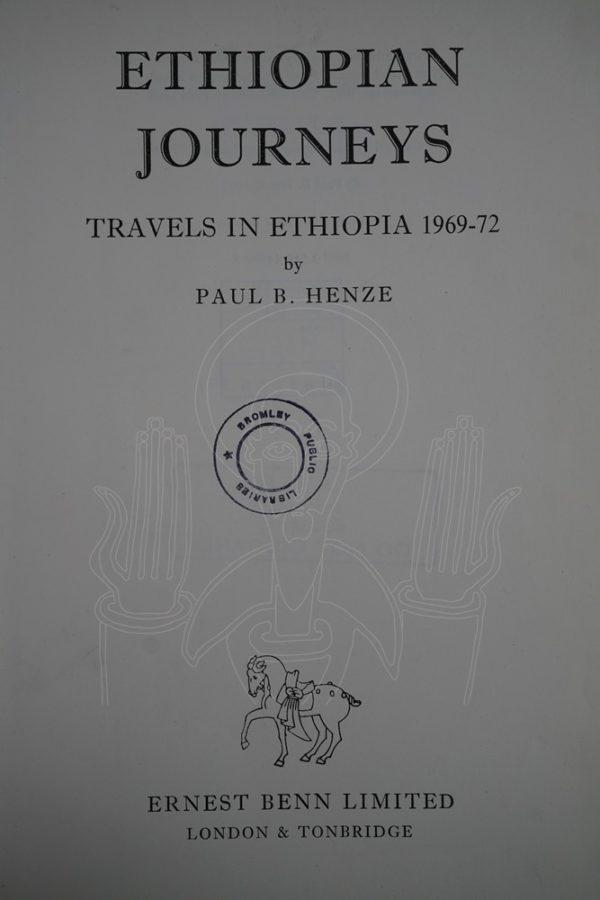 HENZE Ethiopian Journeys