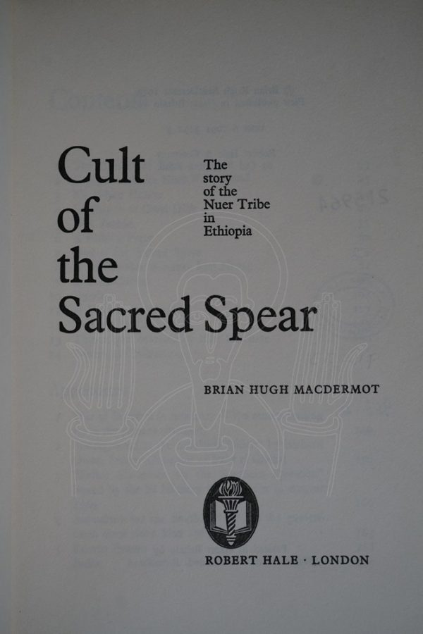 Macdermot Cult of the Sacred Spear