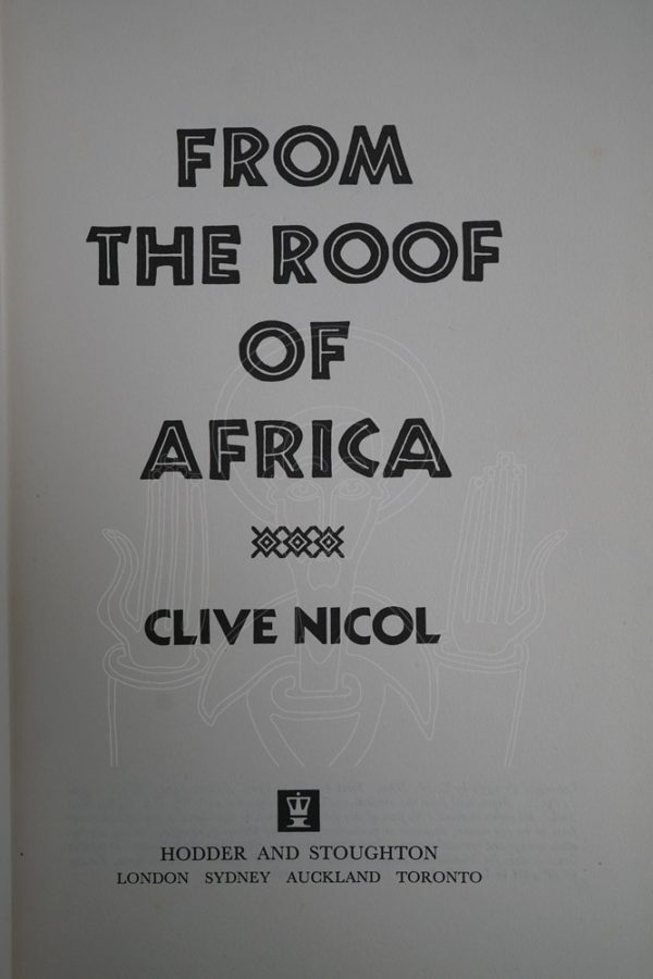 NICOL From the Roof of Africa.