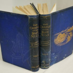 DE COSSON The Cradle of the Blue Nile.