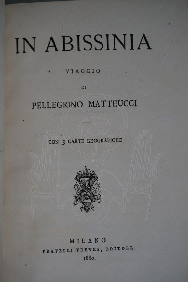 MATTEUCCI In Abissinia.