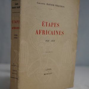 RAVIER-FRACHON Etapes africaines.