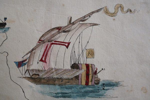 CASTRO Roteiro de Goa atee Soez do Mar Roxo.