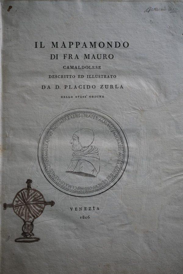 ZURLA Il Mappamondo di Fra Mauro