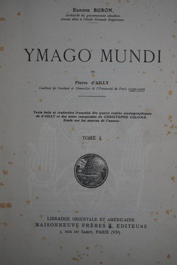 AILLY Ymago Mundi
