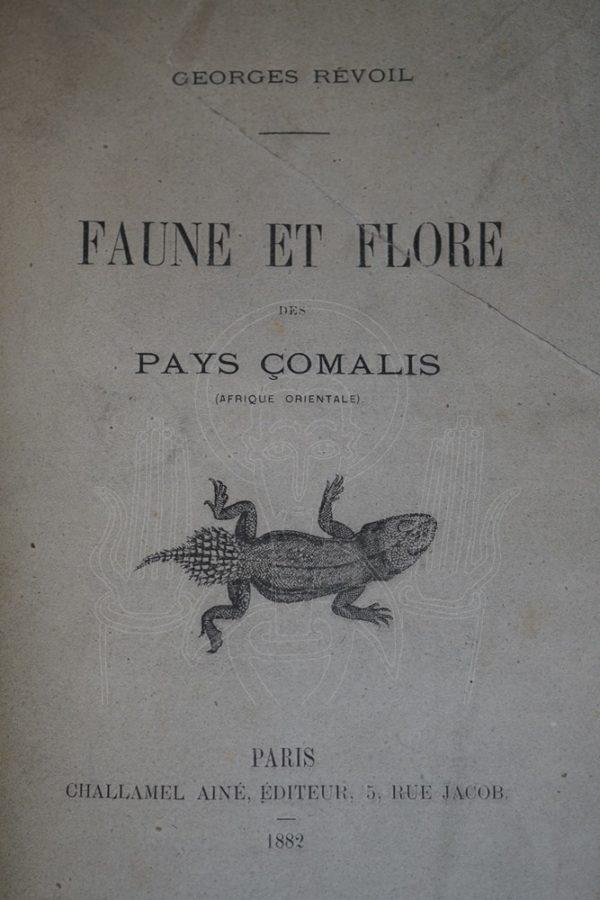RÉVOIL Faune et flore des pays Çomalis.