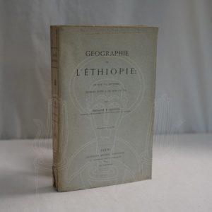 ABBADIE Géographie de l'Ethiopie.