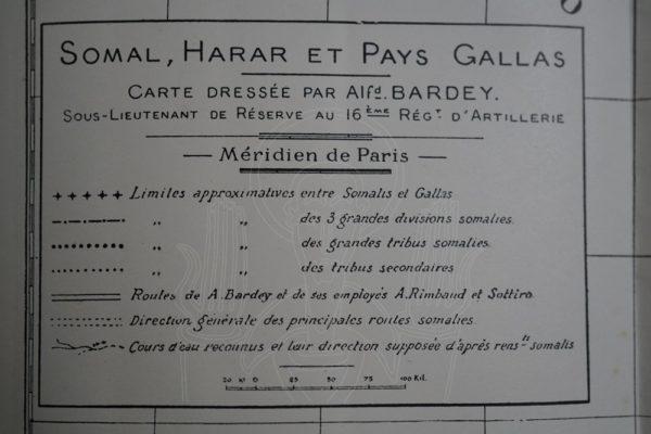 BARDEY Notes sur le Harar