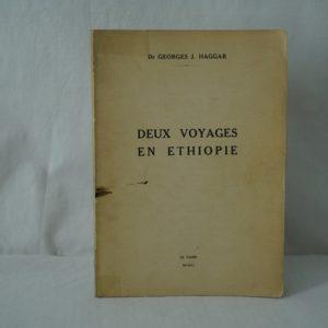 HAGGAR Deux voyages en Ethiopie.
