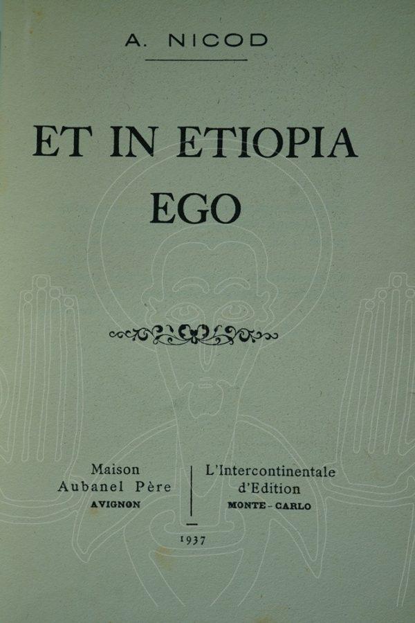 NICOD Et in Etiopia Ego