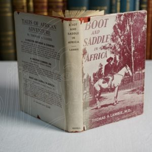 LAMBIE Boot and Saddle in Africa.