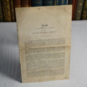 Bericht des afrikanischen Studien-Syndikats über die Expedition nach Abessinien im Jahre 1911