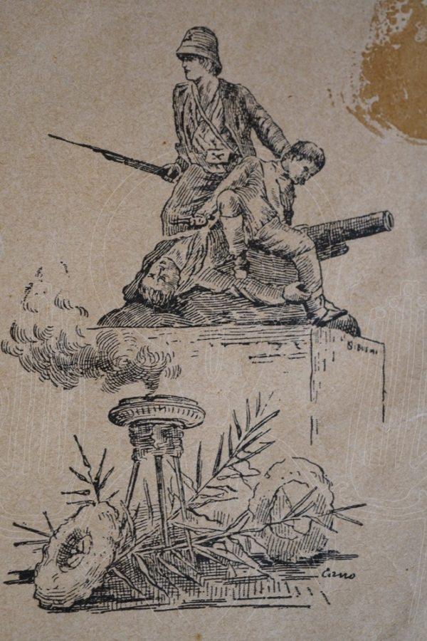 CORDELLA L'artiglieria della brigata Albertone ad Abba Garima.