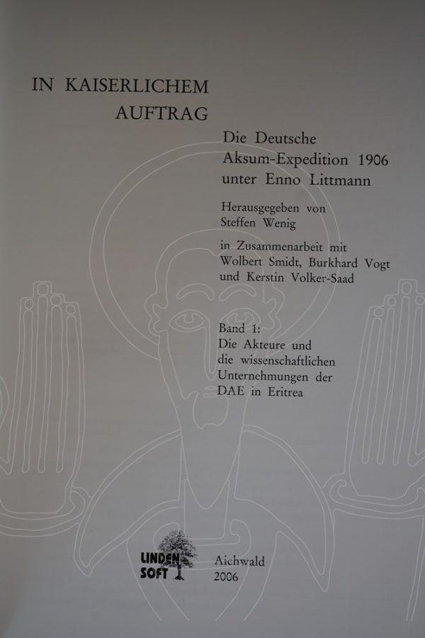 WENIG In Kaiserlichem Auftrag.