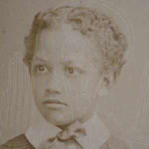 Photographer: Albert Deneulain, London. Buste présumé d'Alämayyähu Tewodros (1860-1879), fils de Tewodros II, circa 1868-1879, d