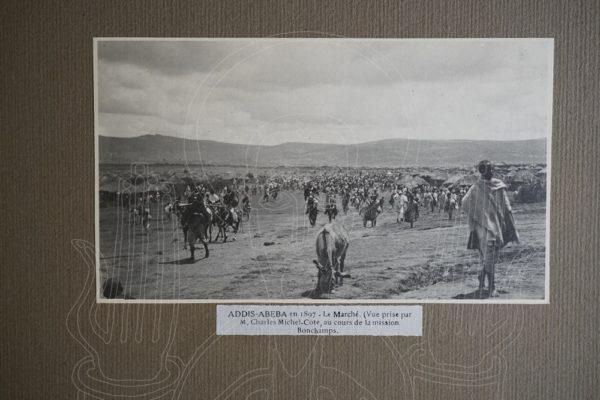 MICHEL-CÔTE Inauguration de la gare d'Addis Abeba