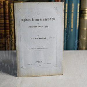KODOLITSCH Die englische Armee in Abyssinien im Feldzuge 1867-1868.