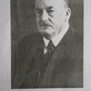 Portrait d'Alfred Kaiser