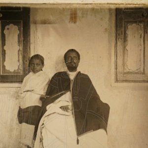 Le Ras Makonnen et son fils Tafari